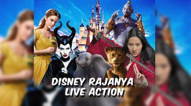 Disney terhitung rajin meluncurkan film live action yang diangkat dari film animasinya. Apa yang melatarbelakangi pembuatan film live action Disney? Simak video berikut ini.