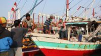Kementerian Kelautan dan Perikanan (KKP) menghadirkan layanan baru terintegrasi elektronik bagi kapal ikan yang akan berlayar. (Dok KKP)