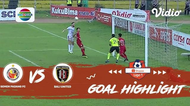 Berita video gol-gol yang dicetak Bali United ke gawang Semen Padang yang memastikan mereka juara Shopee Liga 1 2019, Senin (2/12/2019).