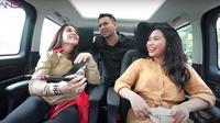 Aminda, Nagita Slavina dan Raffi Ahmad