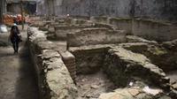 Reruntuhan itu memiliki luas sekitar 900 meter persegi dan diduga menjadi tempat tinggal Pengawal Praetoria di bawah kekuasaan Hadrian.