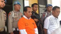 Polda Lampung rilis DPO korupsi MN. ©2019 Merdeka.com/Kirom