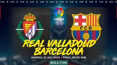 La Liga - Real Valladolid Vs Barcelona