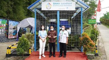 Otsuka Dirikan Bank Sampah di Sukabumi