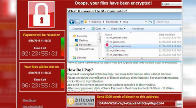 Serangan WannaCry