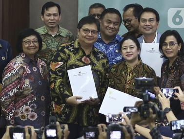 Pemerintah Serahkan Draft RUU Omnibus Law