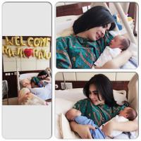 Syahrini bersyukur memiliki keponakan kembar (Instagram)
