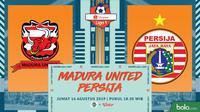 Shopee Liga 1 - Madura United Vs Persija Jakarta (Bola.com/Adreanus Titus)