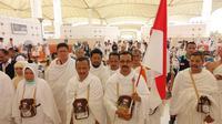 Jemaah Haji Indonesia Gelombang Dua Mendarat di Jedah