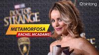 Rachel McAdams, selebriti Hollywood berusia 39 tahun ini sosoknya sangat patut untuk dikagumi. (Foto: AFP/Digital Imaging: M. Iqbal Nurfajri)