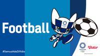 Banner Sepak Bola Olimpiade Tokyo 2020. (Foto: Vidio)