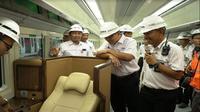 Kereta Sleeper buatan PT INKA (Foto: Dok Kementerian BUMN)