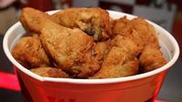 Demi ayam KFC, dua keluarga ini mengadakan perjalanan dengan mobil dari Kanada ke AS