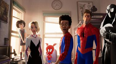 Spider-Man: Into the Spider-Verse (Sony Pictures/ Marvel/ IMDb)