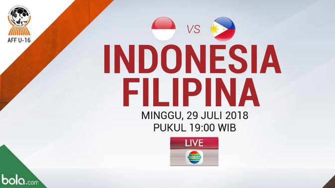 Indosiar Streaming Facebook: Live Streaming Piala AFF U-16 Di Indosiar: Timnas