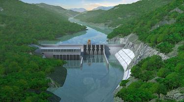 PT Kayan Hydro Energy (KHE) siap memulai pembangunan fisik Pembangkit Listrik Tenaga Air (PLTA) di Kalimantan Utara.