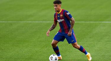 Winger Barcelona, Philippe Coutinho.
