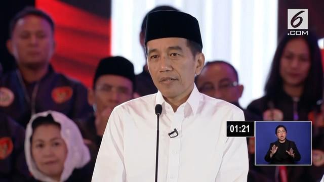 Jokowi menyebut contoh kesetaraan HAM yang telah diterapkan di pemerintahannya ialah dengan memberikan bonus atlet Para Games 2018 mendapat miliaran rupiah sama dengan atlet Asian Games 2018.
