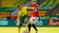 Norwich vs MU. (Twitter FA)