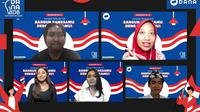 DANA Hadirkan Webinar 'DANAID8 Sumpah Pemuda 4.0: Bangun Bangsamu Dengan Caramu' bersama Jurnalis hingga Aktivis.