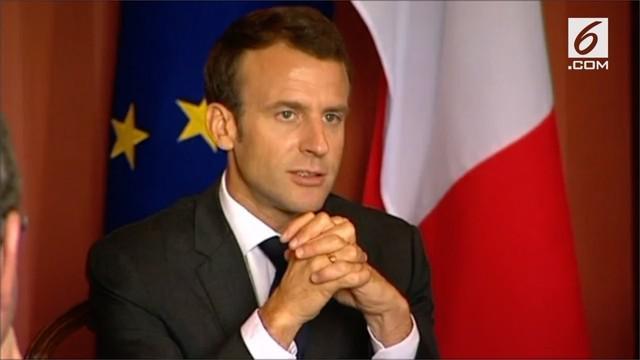 "Presiden Perancis, Emmanuel Macron, sebut istri PM Australia ""Delicious""."