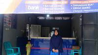 Yusrah Zaenong, agen BRILink di Palu, Sulawesi Tengah. Foto: Dok Pribadi