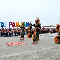 Kawasan Pantai Panjang Kota Bengkulu menjadi ikon Visit Bengkulu Years 2020 (Liputan6.com/Yuliardi Hardjo)