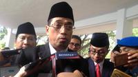 Menteri Perhubungan Budi Karya Sumadi akui pihaknya masih menunggu proses audit untuk menentukan nasib Lion Air (Liputan6.com/ Eka Hakim)