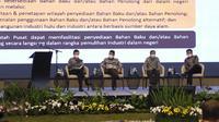 Kegiatan Serap Aspirasi Implementasi UU Cipta Kerja di Bandung.