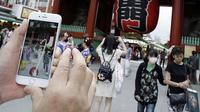 Para pemain pun mengunjungi berbagai lokasi, termasuk kuil Sensoji (Foto: Business Insider)