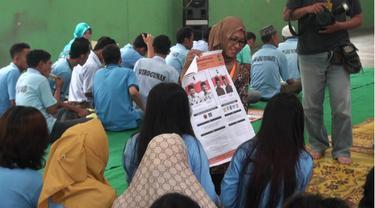 Petugas KPU Yogyakarta lakukan sosialisasi di LP Kelas IIA Wirogunan