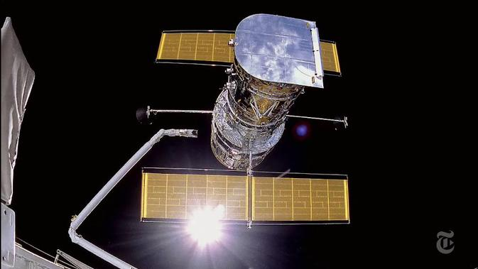 Setelah 25 tahun lamanya, teleksop Hubble masih memberikan kejutan-kejutan kepada manusia.