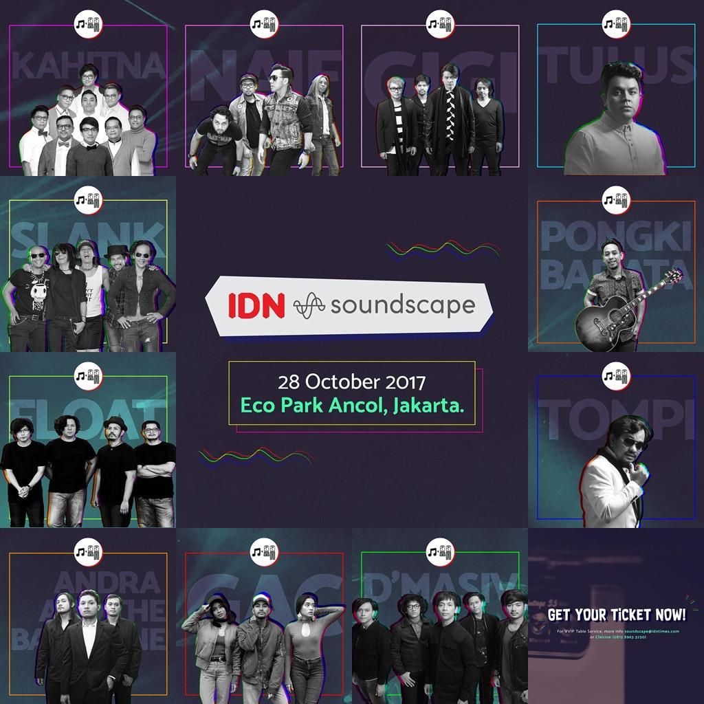 Konser musik IDN Soundscape. (IDN Media)