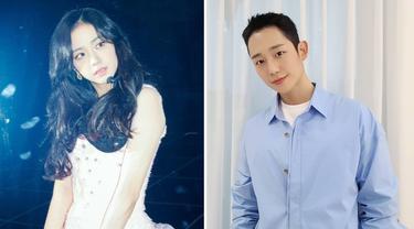 Jisoo Blackpink dan Jung Hae In. (Instagram/ sooyaaa__ - holyhaein)