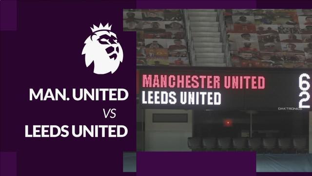 Berita motion grafis statistik Liga Inggris 2020/2021 laga pekan ke-14 antara Manchester United melawan Leeds United yang berakhir dengan skor 6-2, Minggu (20/12/2020) malam hari WIB.