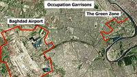 Kawasan Green Zone, Baghdad, Irak. (Wikimedia)