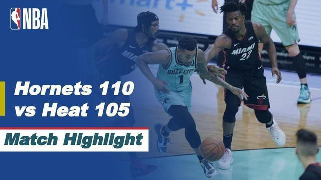 Berita Video Highlights NBA, Charlotte Hornets Bungkam Miami Heat 110-105 (27/3/2021)
