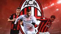 AC Milan - Mario Mandzukic, Ante Rebic, Zvonimir Boban (Bola.com/Adreanus Titus)