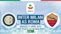 Serie A - Inter Milan Vs AS Roma (Bola.com/Adreanus Titus)