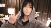 Jungkook BTS Suka Masak dan Makan Pizza Selama di Rumah Saja. (dok.Instagram @bts.jungkook/https://www.instagram.com/p/B4JCtYKjQHx/Henry)
