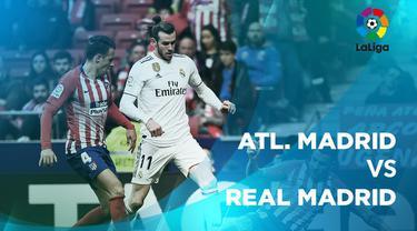 Berita video statistik Atletico Madrid vs Real Madrid pada laga pekan ke-23, La Liga 2018-2019, Sabtu (9/2/2019) di Stadion Wanda Metropolitano, Madrid.