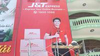 Penampakan gerai dan branding J&T Express Vietnam