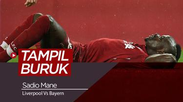 Berita video rapor para pemain Liverpool saat menghadapi Bayer Munchen, Sadio Mane tampil buruk pada pertandingan tersebut menurut Independent.