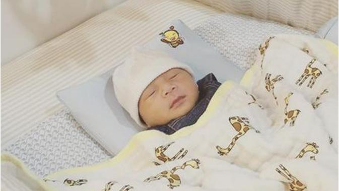 Gantengnya Bayi Raffi Ahmad Nagita Slavina Saat Tidur Lelap