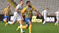 Gelandang Timnas Yordania dan APOEL FC, Musa Al-Taamari. (APOEL FC).