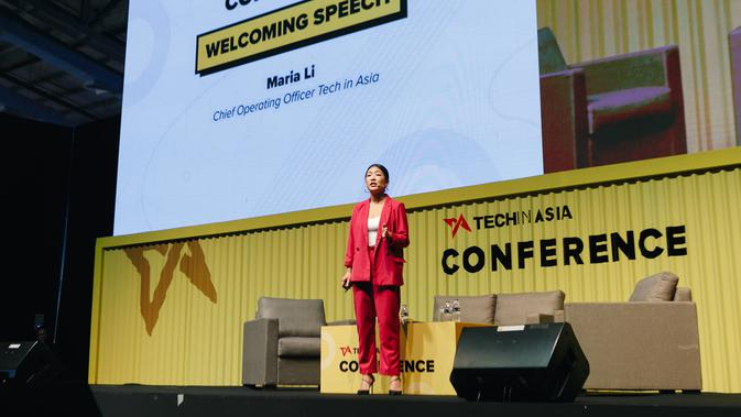 Chief Operating Officer Tech in Asia, Maria Li. Kredit: Tech in Asia