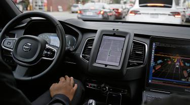 Uber Siap Luncurkan Mobil Tanpa Supir di California