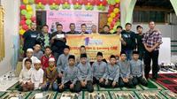 Belajar Helm menggelar aksi sosial di Panti Asuhan dan Santunan Keluarga Muhammadiyah Aisyiyah, Rawamangun. (Istimewa)