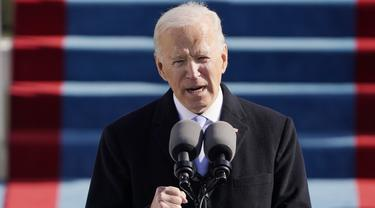 Joe Biden dan Kamala Harris Resmi Pimpin Amerika Serikat