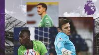 Premier League - Edouard Mendy, Emiliano Martinez, Nick Pope (Bola.com/Adreanus Titus)